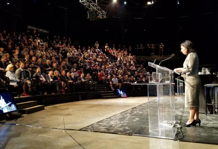 Présidente de la CMM Valérie Plante - mot d'ouverture